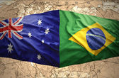 Brazil and Australia — Stock Photo
