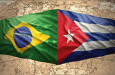 Brazil and Cuba — Stock Photo