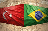 Brazil and Turkey — Stock Photo