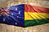 Bolivia and Australia — Stock Photo