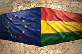 Bolivia and European Union — Stock Photo