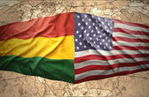 Bolivia and United States of America — Stock Photo