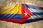 Colombia and Cuba — Stock Photo