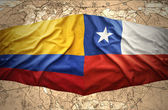 Colombian and Chile — Stock Photo