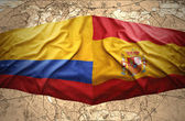 Colombia and Spain — Stock Photo