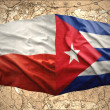 Stock Photo: Chile and Cuba
