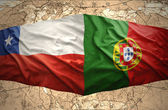 Chile and Portugal — Stock Photo