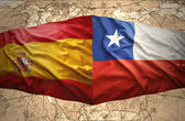 Chile and Spain — Stock Photo