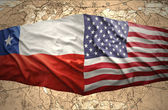 Chile and United States of America — Stock Photo