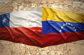 Chile and Venezuela — Stock Photo