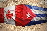 Cuba and Canada — Stock Photo