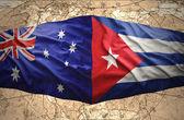 Cuba and Australia — Stock Photo
