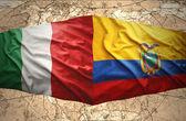 Ecuador and Italy — Stock Photo
