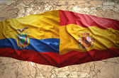 Ecuador and Spain — Stockfoto