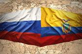 Ecuador and Russia — ストック写真