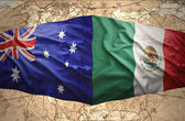 Mexico and Australia — Stockfoto