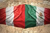 Mexico and Peru — 图库照片