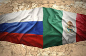 Mexico and Russia — Stock Photo