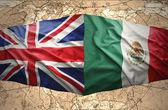 Mexico and United Kingdom — Stock Photo