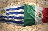 Mexico and Uruguay — Stock Photo