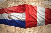 Paraguay and Peru — 图库照片