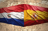 Paraguay and Spain — ストック写真