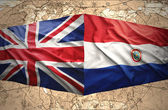 Paraguay and United Kingdom — Stock Photo