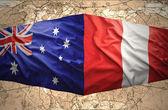 Peru and Australia — Stock Photo