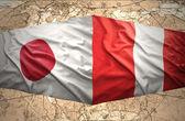 秘鲁和日本 — 图库照片