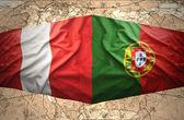 Peru and Portugal — Stock Photo