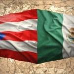 Puerto Rico and Mexico — Stock Photo