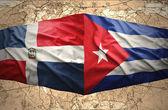 Dominican Republic and Cuba — Stock Photo