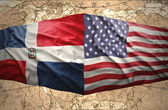 Dominican Republic and United States of America — Stock Photo