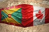 Grenada and Canada — Stock Photo