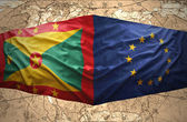 Grenada and European Union — Stock Photo
