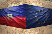 Haiti and European Union — Stock Photo