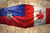 Haiti and Canada — Stock Photo