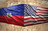 Haiti and United States of America — Stock Photo
