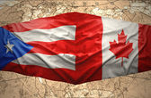 Puerto Rico and Canada — Stock Photo