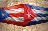 Puerto Rico and Cuba — Stock Photo