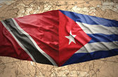 Trinidad and Tobago and Cuba — Stock Photo