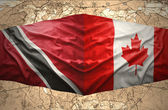 Trinidad and Tobago and Canada — Stock Photo