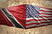 Trinidad and Tobago and United States of America — Stock Photo
