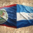 Постер, плакат: Honduras and Belize