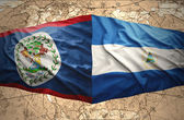 Nicaragua and Belize — Stock Photo