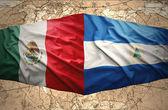 Nicaragua and Mexico — 图库照片