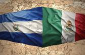 El salvador ve meksika — Stok fotoğraf