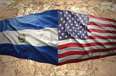El Salvador and United States of America — Stock Photo