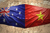 Vietnam and Australia — Stock Photo