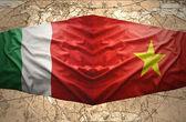 Vietnam and Italy — Stock Photo